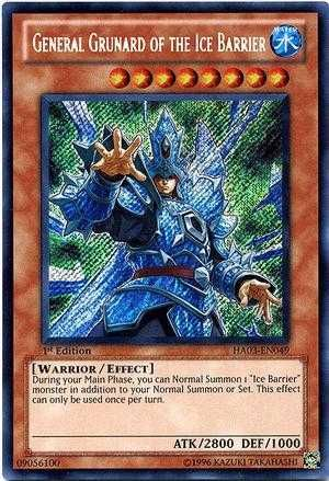 ice barrier cards | Ice Barrier: deck recipe | YuGiOh! Duel
