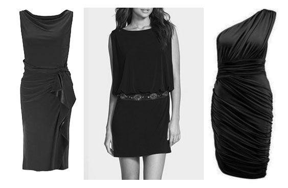 Little black dress for Soft Natural Kibbe body type.