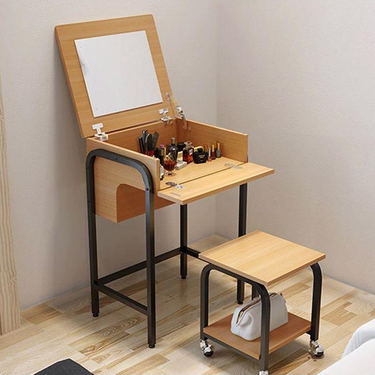 Tocador moderno estilo japon s ideal para espacios - Ideas para pisos pequenos ...