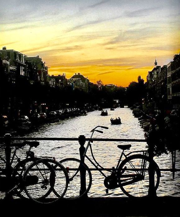 Sunset Amsterdam by Lizzie Reakes