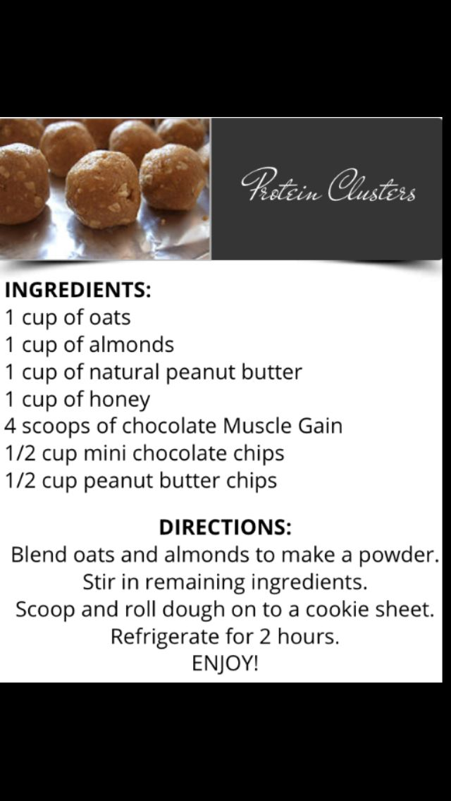 AdvoCare Protein Clusters...these are soooo yummy!!!