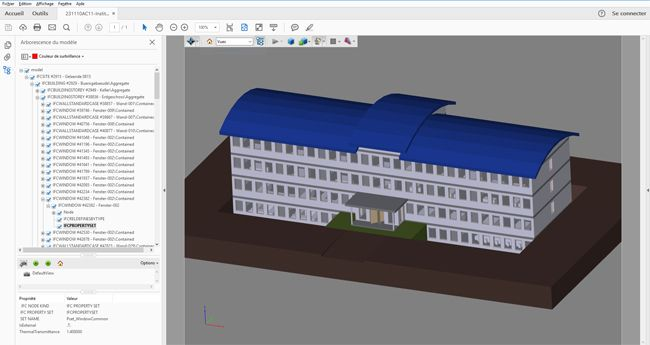 Datakit, a trusted name in CAD data exchange, introduces its newest interface known as IFC format reader for BIM. It belongs to a library to read the IFC format (Industry Foundation Classes), the standard exchange format for BIM (building information modeling).