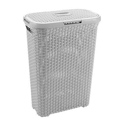 Slingert je was overal rond in huis? Plaats in de badkamer en je slaapkamer een wasbox en de rommel is opgeruimd. De wasbox ademt en is toch goed afgesloten met het deksel. Handig van Curver.