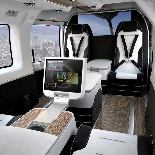 Mercedes Benz Helicopter o_O