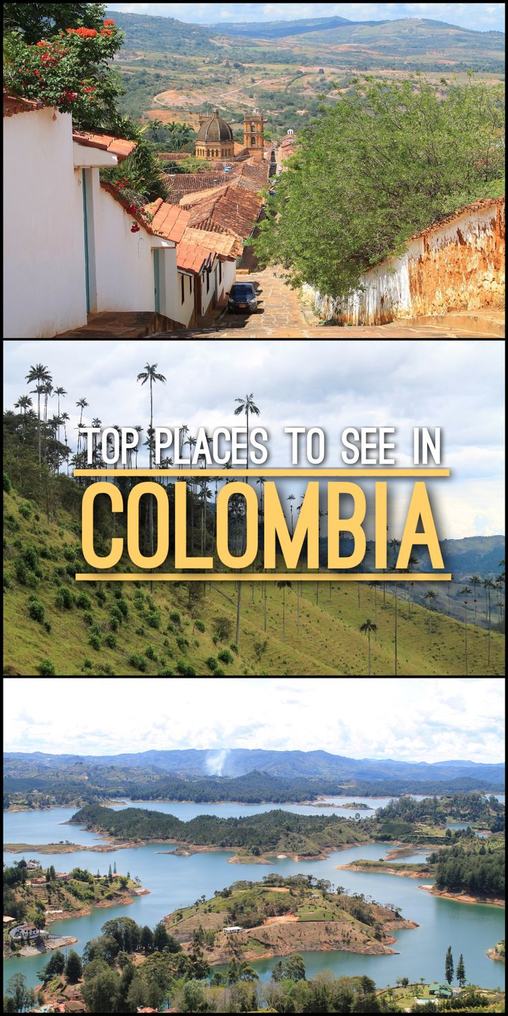 Are you planning a trip to Colombia? From Cartagena to Valle de Cocora, check out our list are top places to see in Colombia.