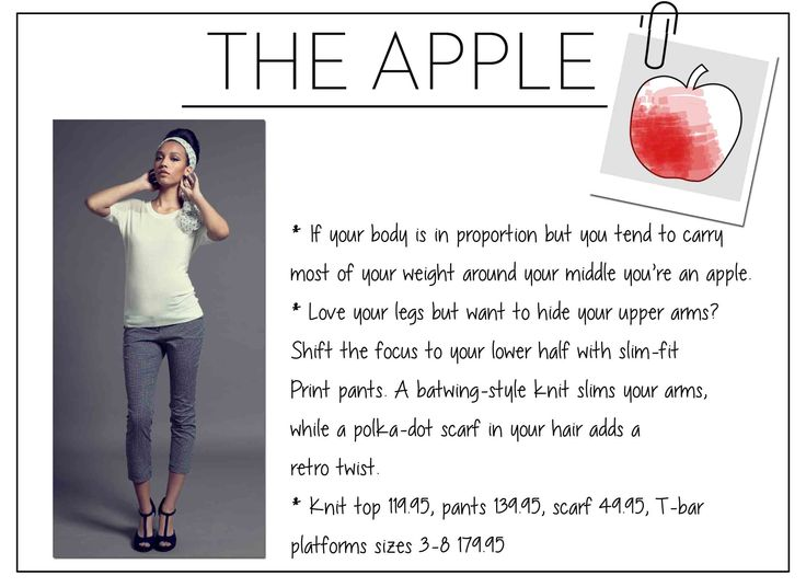 apple shape weight loss tips