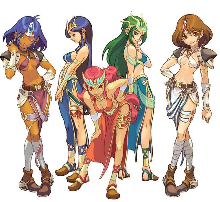 Breath of Fire 2 Shamans