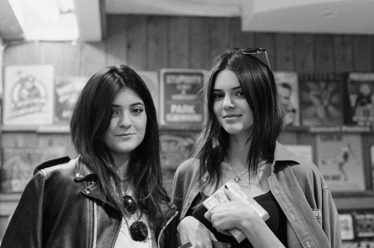 Kylie and Kendall Jenner by Moises Arias Photoshoots