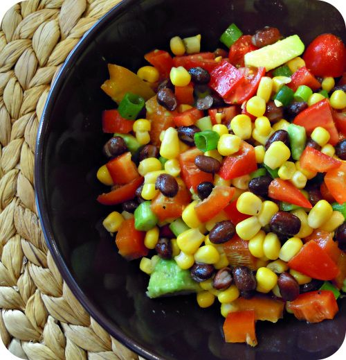 MEXICAN BEAN SALAD | Must Try Recipes | Pinterest