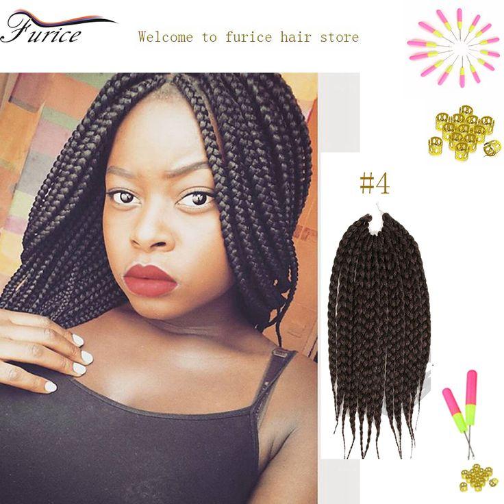 Box Braid Crochet Hair Extension 18 Inch 24 Inch Boxs Braids Hairstyles To Do With Box Braids Crochet Twist Curly Crochet Hair