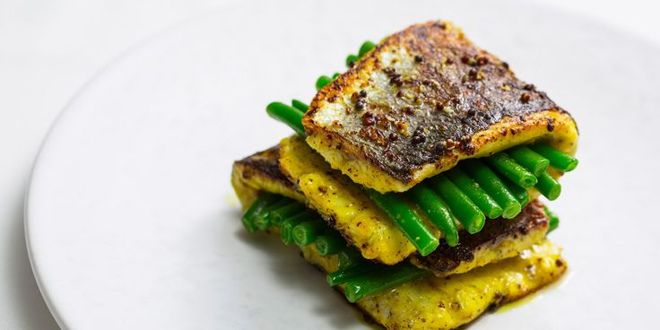 Peter Joseph serves up a spicy marinated sea bass recipe, playfully presented and perfect for a dinner party.