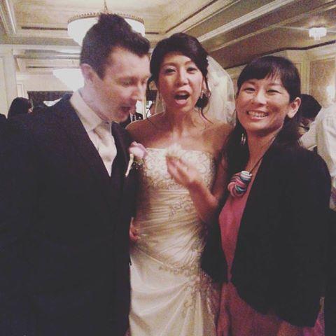 Peter and Akiko's wedding reception @ Sir Stamford