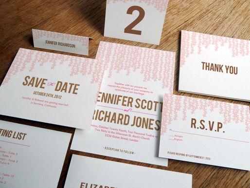 Pink Rain Printable Wedding Kit #weddinginvitation #diywedding #weddinginvite