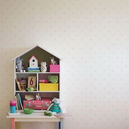 Design tapéták   Sanderson   Abracazoo Wallpapers kollekció   Polka tapéta