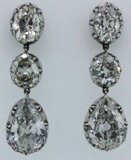 Ruth Madoff's Diamond Earrings - $135,000 at government auction