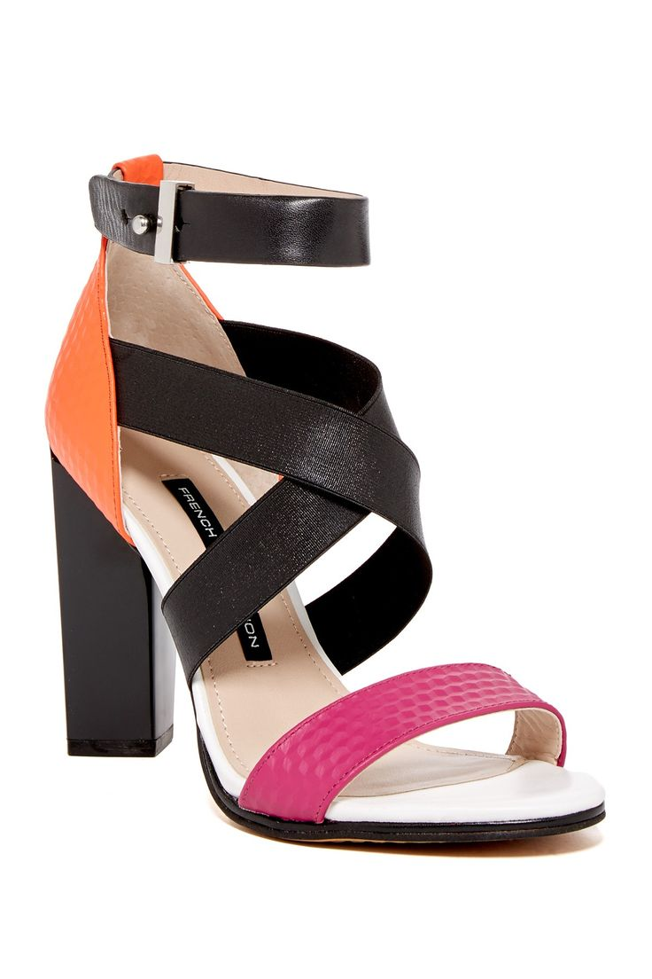 Stand Out In These French Connection Melody Sandals