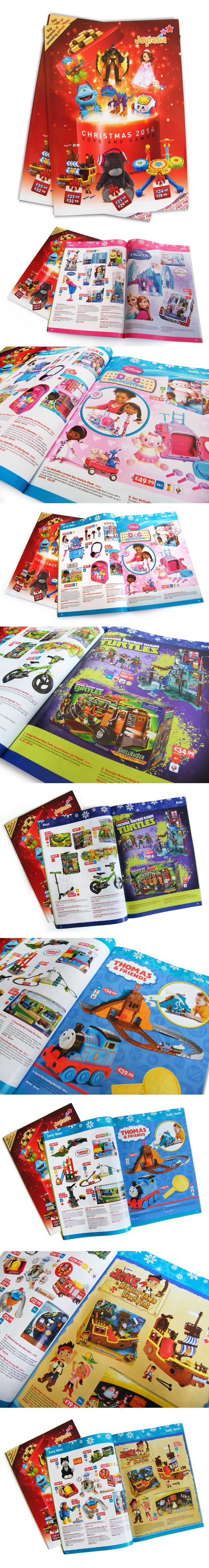 80 page Christmas Toy Catalogue for 2014 - available in stores now. Occasional 'feature pages' highlight key product ranges.