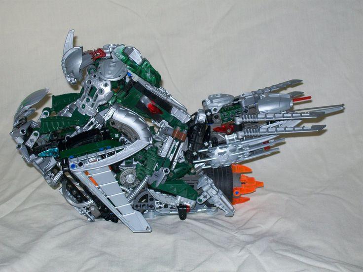 Bionicle MOC: Sky bike by 3rdeye88 on DeviantArt