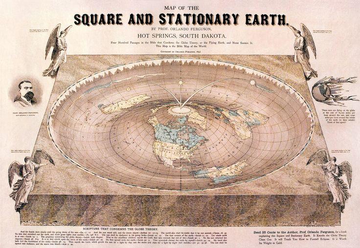Square earth, by Orlando Ferguson | Atlas Obscura