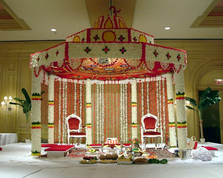 jasmine wedding mandap - Google Search