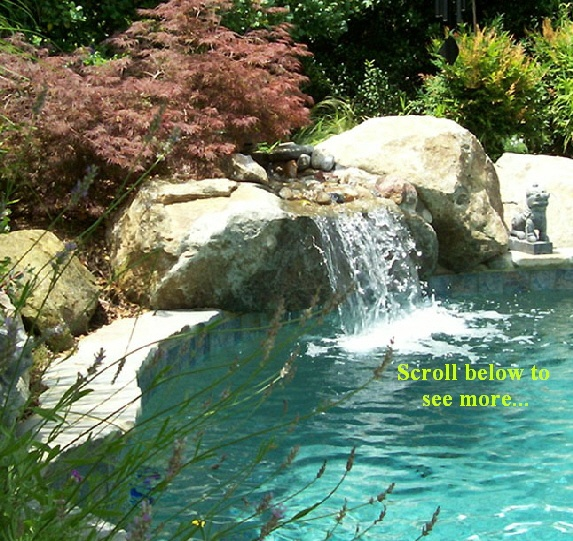 17 best images about cool pools on pinterest rustic for Beautiful swimming pools with waterfalls