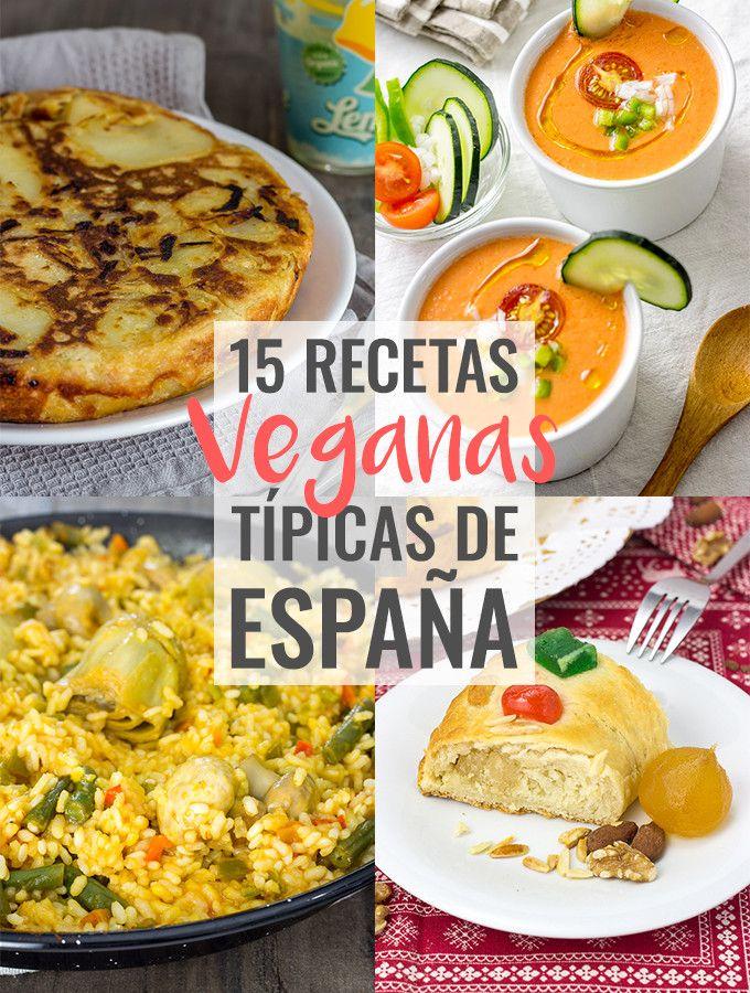 Recetas veganas típicas de España