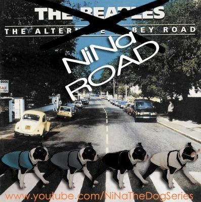 A #tribute of the famous #AbbeyRoad #TheBeatles !