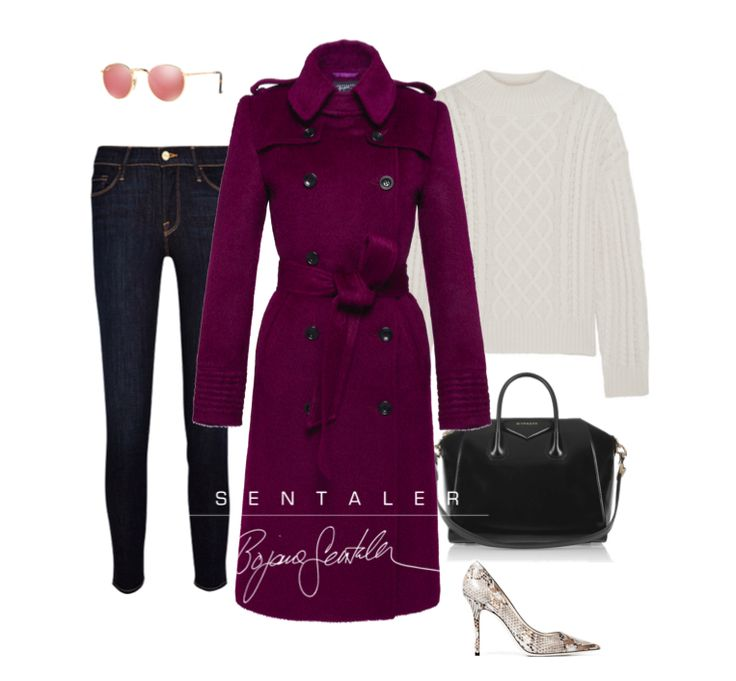 Mulberry Double Breasted Trench trend alert