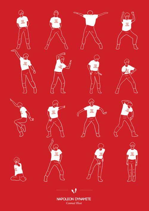 Dance Choreography for Napoleon Dynamite