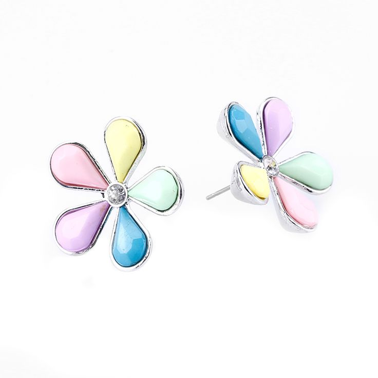 Find More Stud Earrings Information about 2017 Fashion cute candy color bow love jewelry earrings for women fashion female models flower Earrings stud earrings pendientes,High Quality jewelry earring display,China jewelry cluster Suppliers, Cheap jewelry murano from Yiwu zenper accessories crafts co.,ltd  on Aliexpress.com