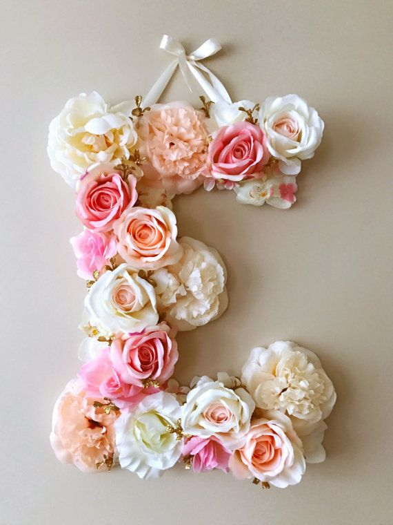 best 25 flower letters ideas on pinterest diy party letters diy wall flowers and blooming. Black Bedroom Furniture Sets. Home Design Ideas