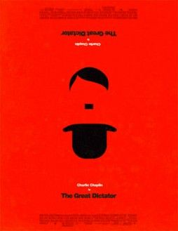 The Great Dictator.  1940.  Olly Moss.  Criterion used this one for their Blu-ray release.