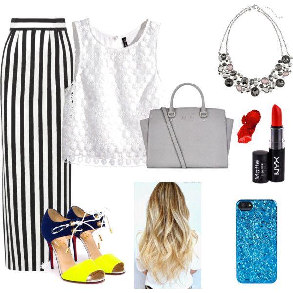 #style #longskirt #easy
