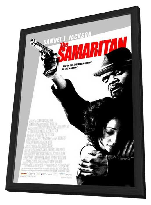the samaritan 27x40 framed movie poster 2012