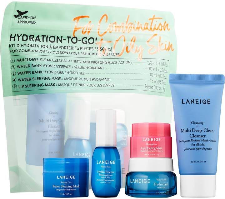 Hydration To Go Combination To Oily Skin Laneige Sephora Oily Skin Oily Skin Care Improve Skin Complexion