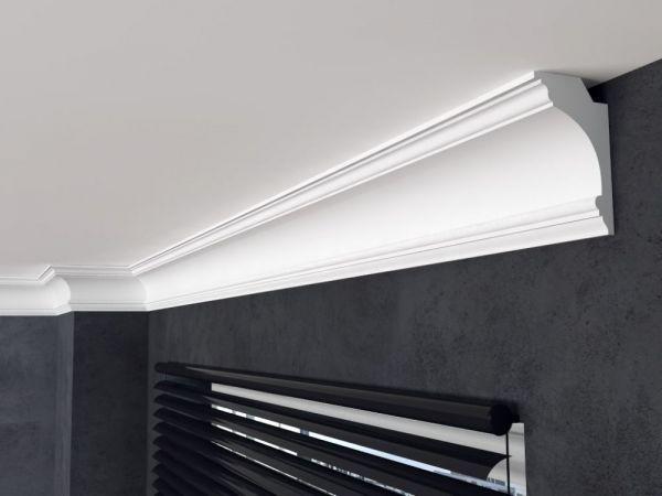 Decken Leiste Lp8 Deckenleiste In 2020 Decke Wandleiste Montagekleber