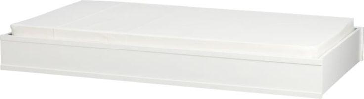 Brighton White Trundle Bed