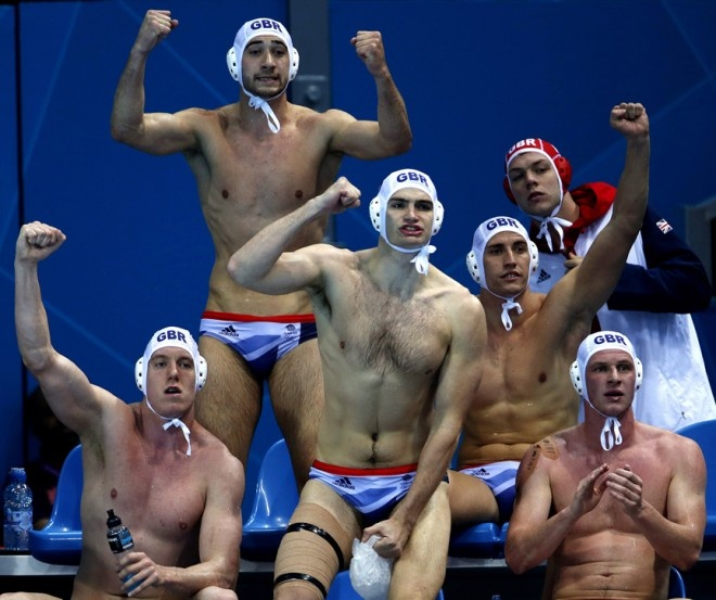 Britain men's water polo