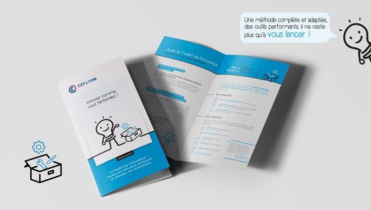 Création charte innovation - CCI DE LYON - Charte Innovation / Agence de Communication Lyon