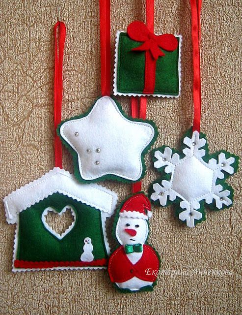 Christmas Crafts Felt
