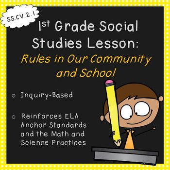 First Grade Social Studies Lesson-Rules in Our Community a