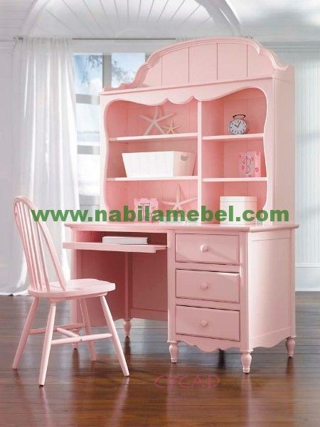 girls desk furniture. Pink Painted Furniture Desk And Chair For Cottage Style Home Decor. Girls C
