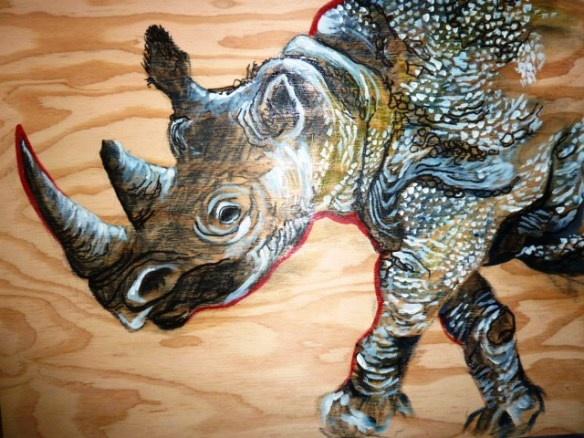 Western Black Rhino