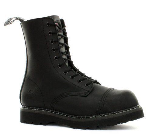 Grinders Stag Black Mens Safety Steel Toe Cap Boots Grinders. $98.92