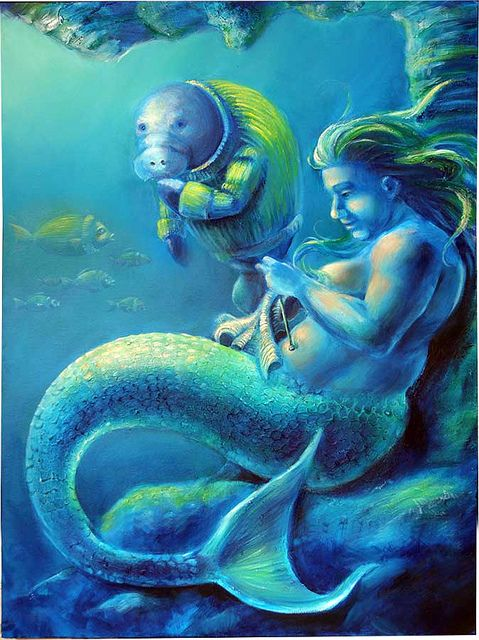 The Truth about Mermaids II by Studio in Blue, LLC, via Flickr