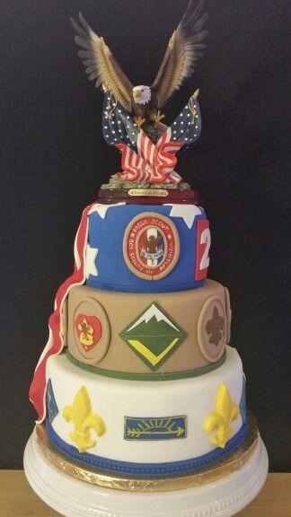 Boy Scout - Eagle Scout Cake