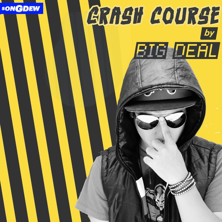 Big Deal is one of the most talented rapper  who has been one of the winning artists for Free The Music, a songdew initiative. Crash Course if the latest single from Big Deal which is being launched globally by Songdew www.songdew.com/freethemusic