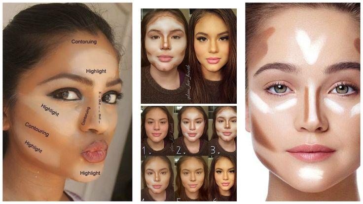 Aprende cómo contornear la cara según el tipo de rostro