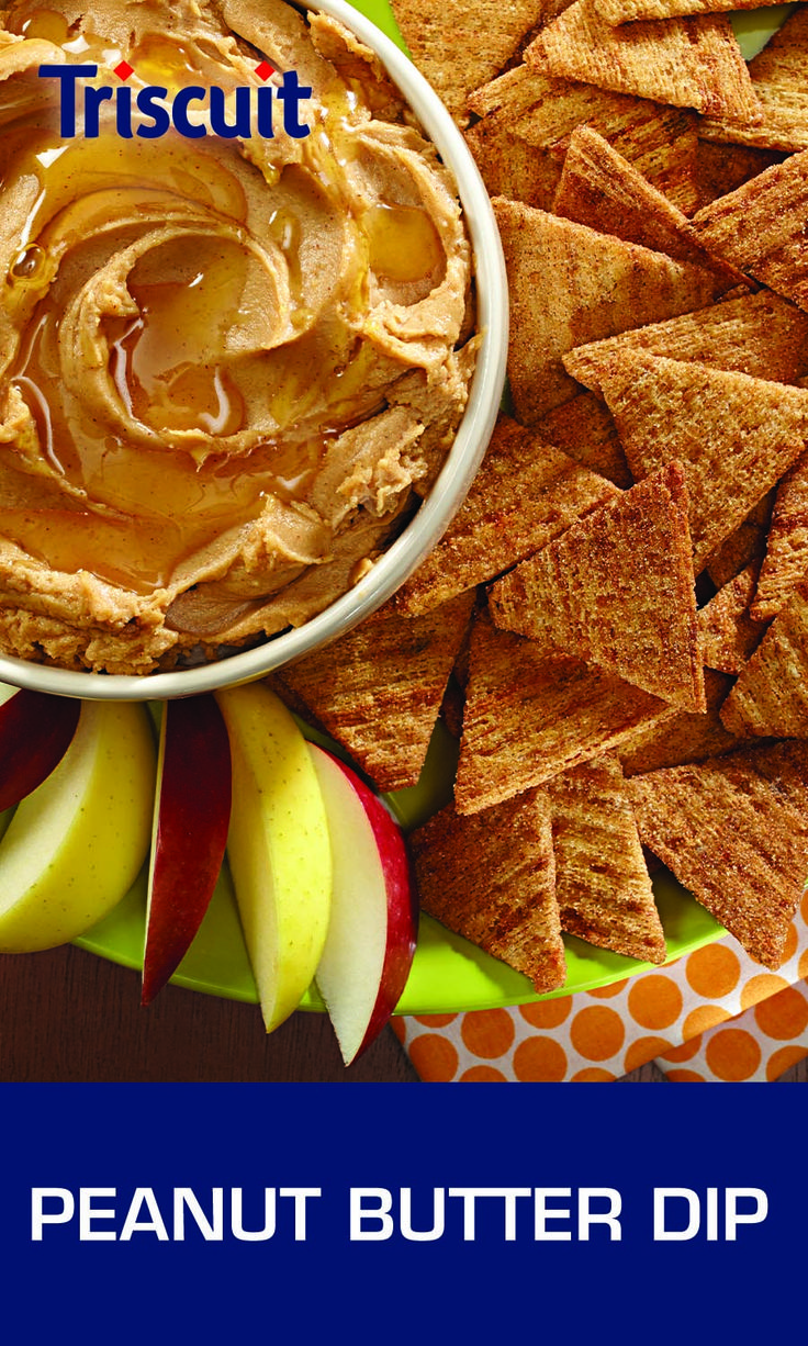 Peanut butter dip, Honey and cinnamon and Apple slices on Pinterest