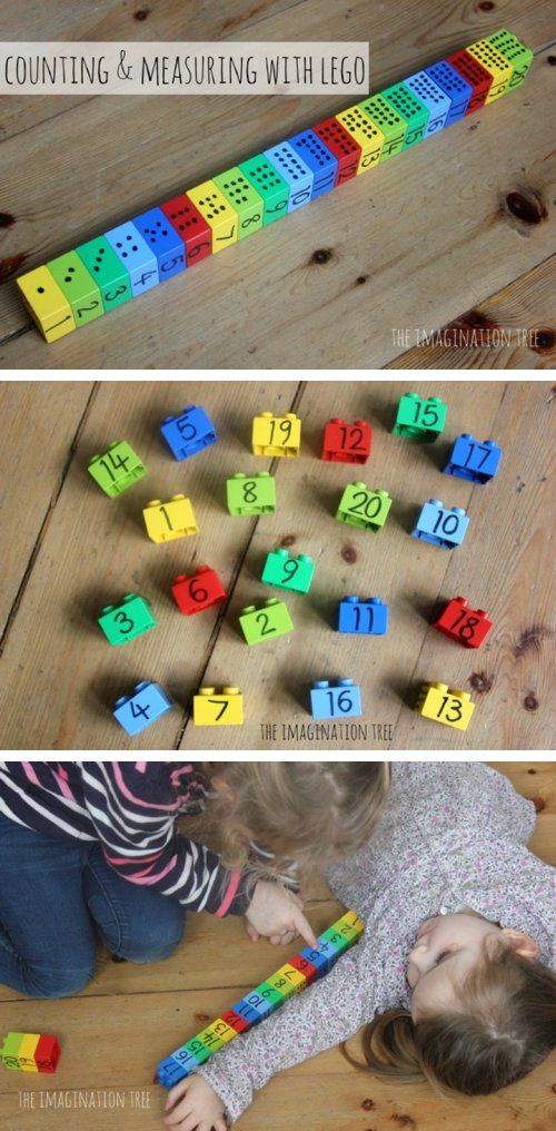 Counting and Measuring with Lego
